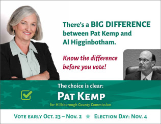 Pat Kemp mailer cover