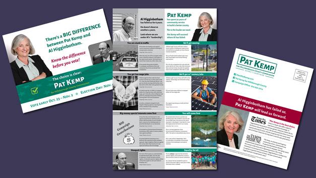 Pat Kemp campaign mailer