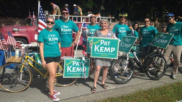 Pat Kemp Bicycle Brigade