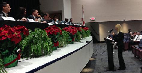 Mariella speaks to legislators