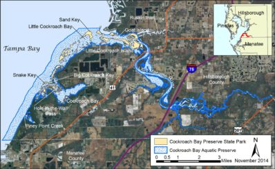 Cockroach Bay Aquatic Preserve Map