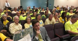 Citizens packed the hearing