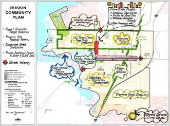 Ruskin Plan Map
