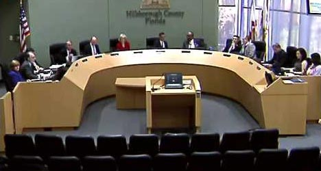 County Commission Boardroom