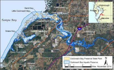 Cockroach Bay Aquatic Preserve Map