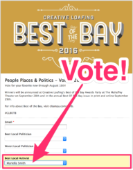 Best of the Bay vote